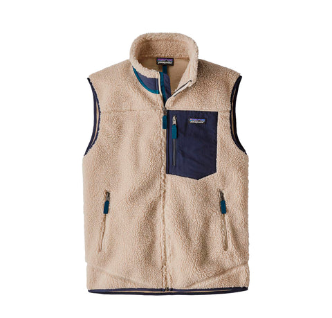 Hoods & Sweats Patagonia Classic Retro-X Vest: Natural - The Union Project, Cheltenham, free delivery