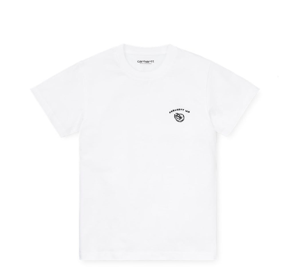Carhartt WIP Womens Reverse Midas T-Shirt: White / Black - The Union Project