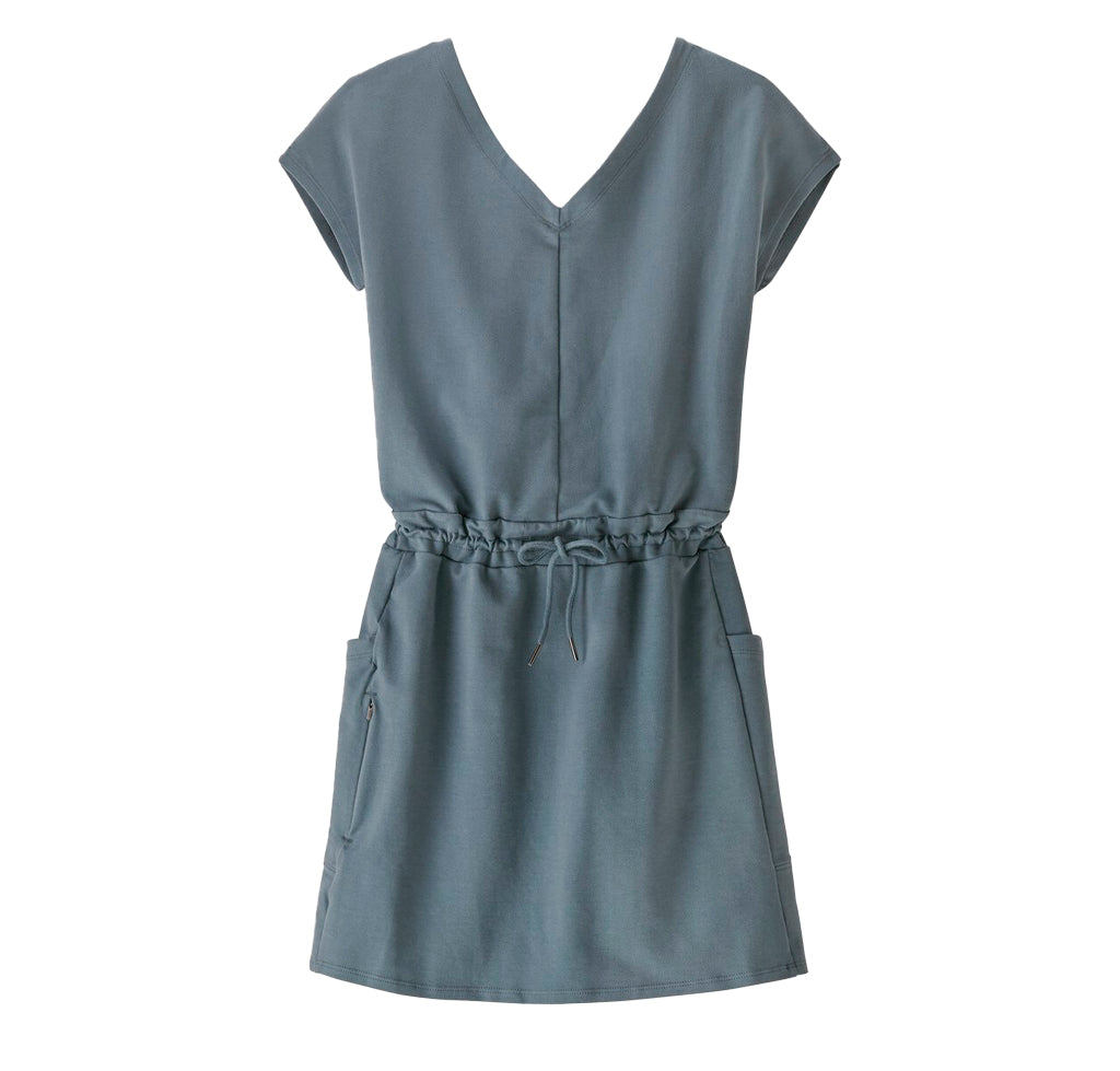Patagonia Womens Roaming Dress: Plume Grey - The Union Project