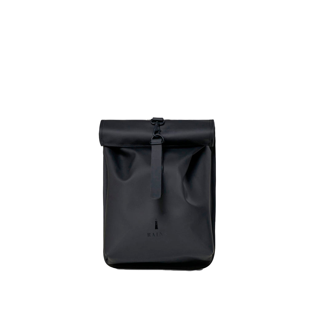 Rains Rolltop Rucksack Mini: Black - The Union Project