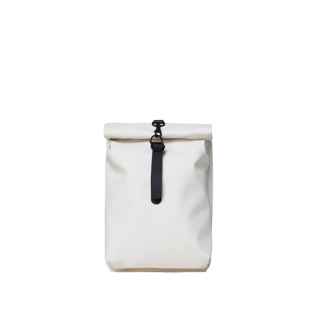 Rains Rolltop Rucksack Mini: Off White - The Union Project