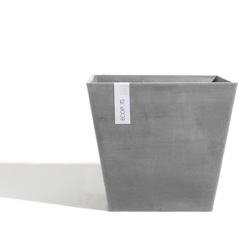 Ecopots Rotterdam Pot Large (50cm): Grey - The Union Project