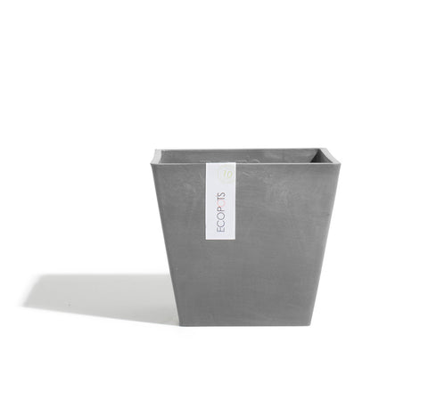 Plant Pots + Vases Ecopots Rotterdam Pot Small (20cm): Grey - The Union Project, Cheltenham, free delivery