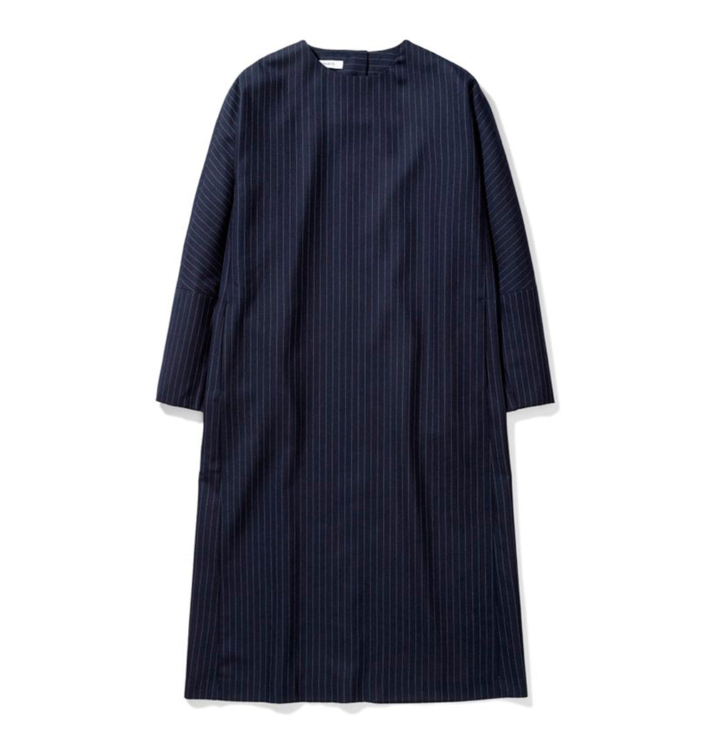 Norse Projects Womens Sabina Stripe: Dark Navy - The Union Project