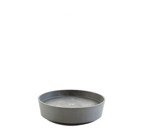 Plant Pots + Vases Ecopots Saucer On Wheels L (40cm): Grey - The Union Project, Cheltenham, free delivery