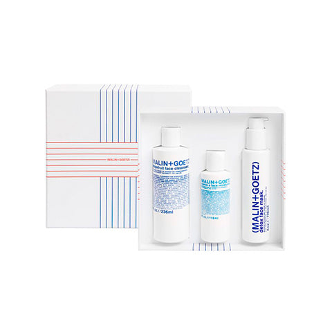 Skincare + Fragrance Malin + Goetz: Saving Face Gift Set - The Union Project, Cheltenham, free delivery