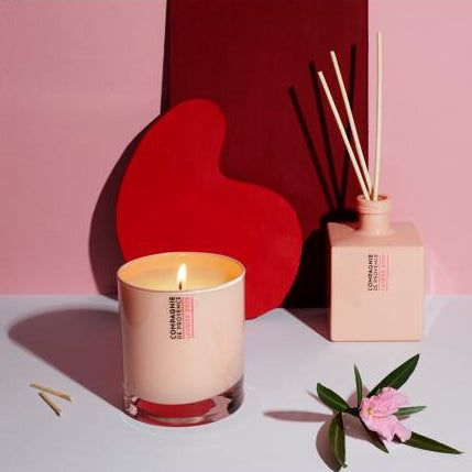 Scented Candle: Rose Bay