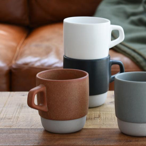 Ceramics SCS Stacking Mug: Navy - The Union Project