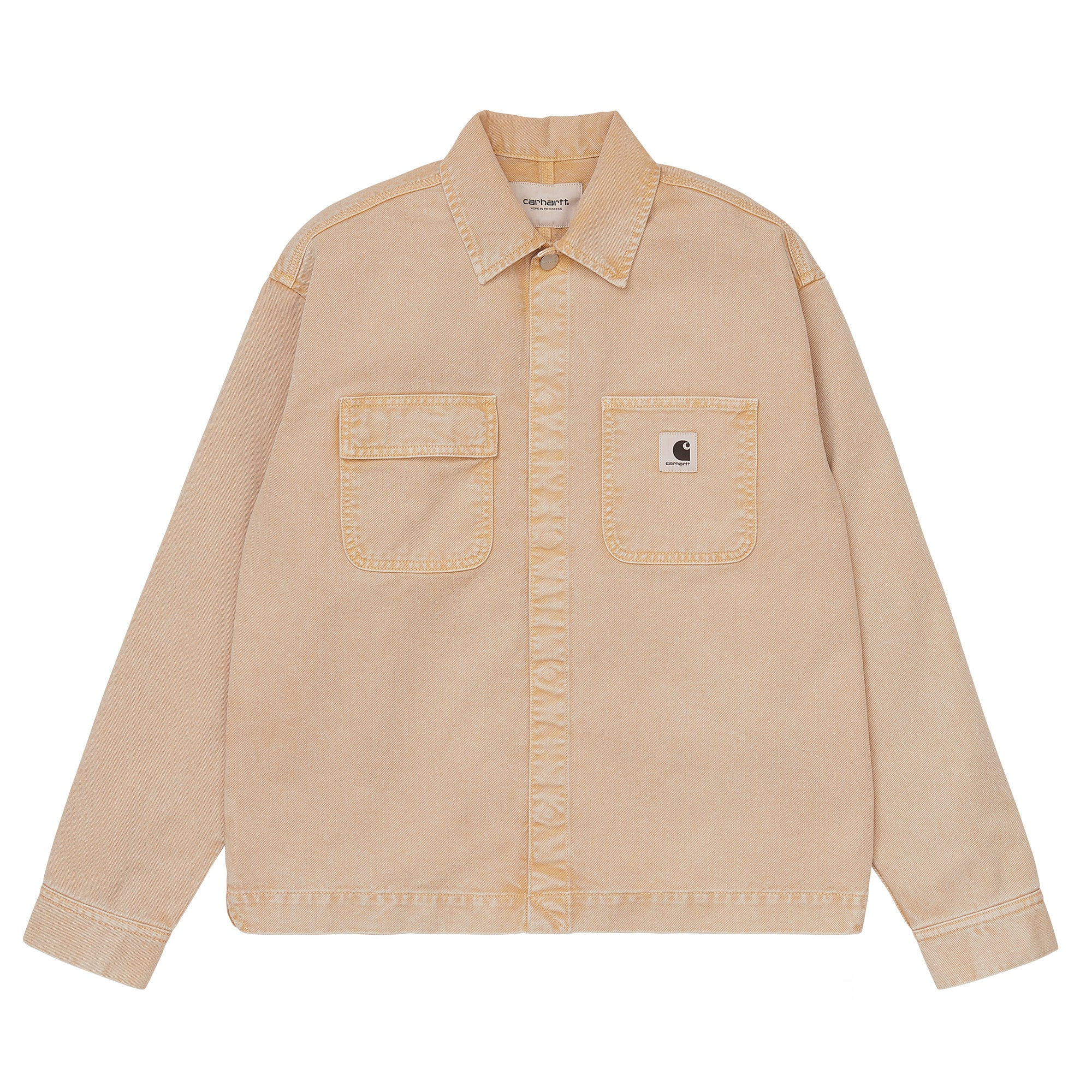 Carhartt WIP Womens Sonora Shirt Jacket: Dusty Hamilton Brown - The Union Project