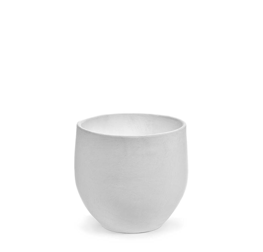 Ceramic Plant Pots Serax Pot: White - The Union Project, Cheltenham, free delivery