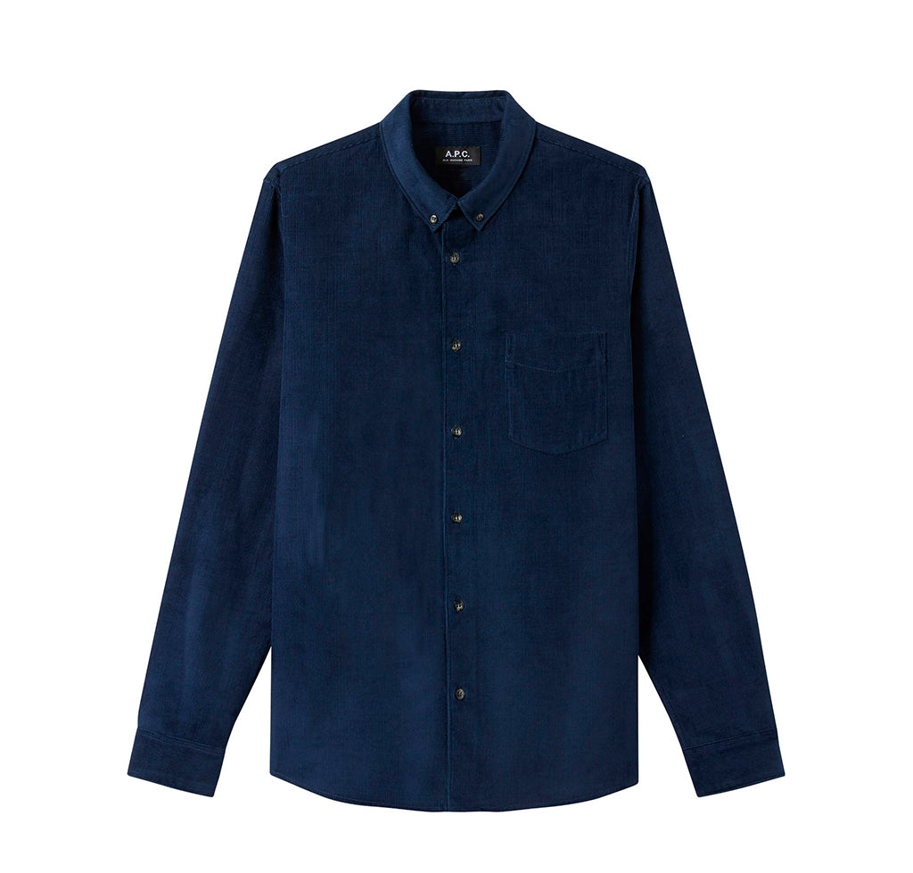 APC Serge Shirt: Marine - The Union Project
