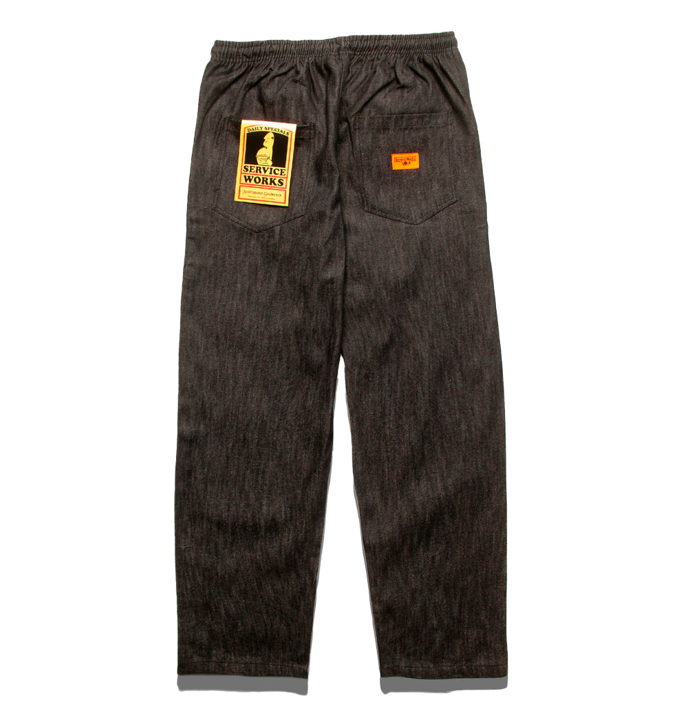 Service Works Classic Chef Pant: Dark Washed Denim - The Union Project