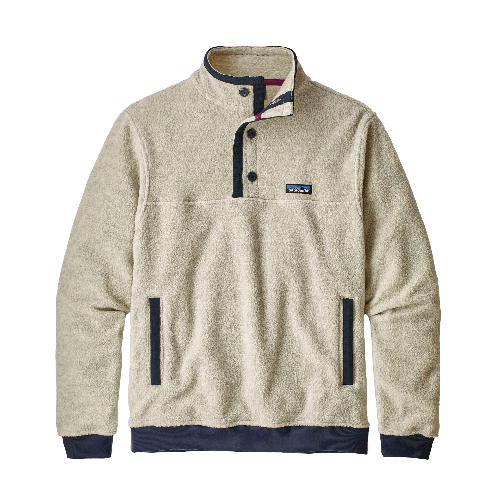 Patagonia Shearling Button P/O: Oatmeal - The Union Project