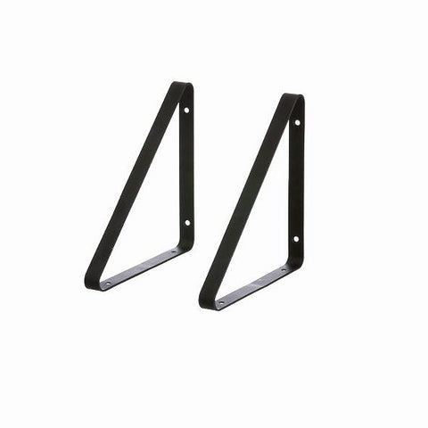 Home Accessories Shelf Hangers (set of 2): Black - The Union Project