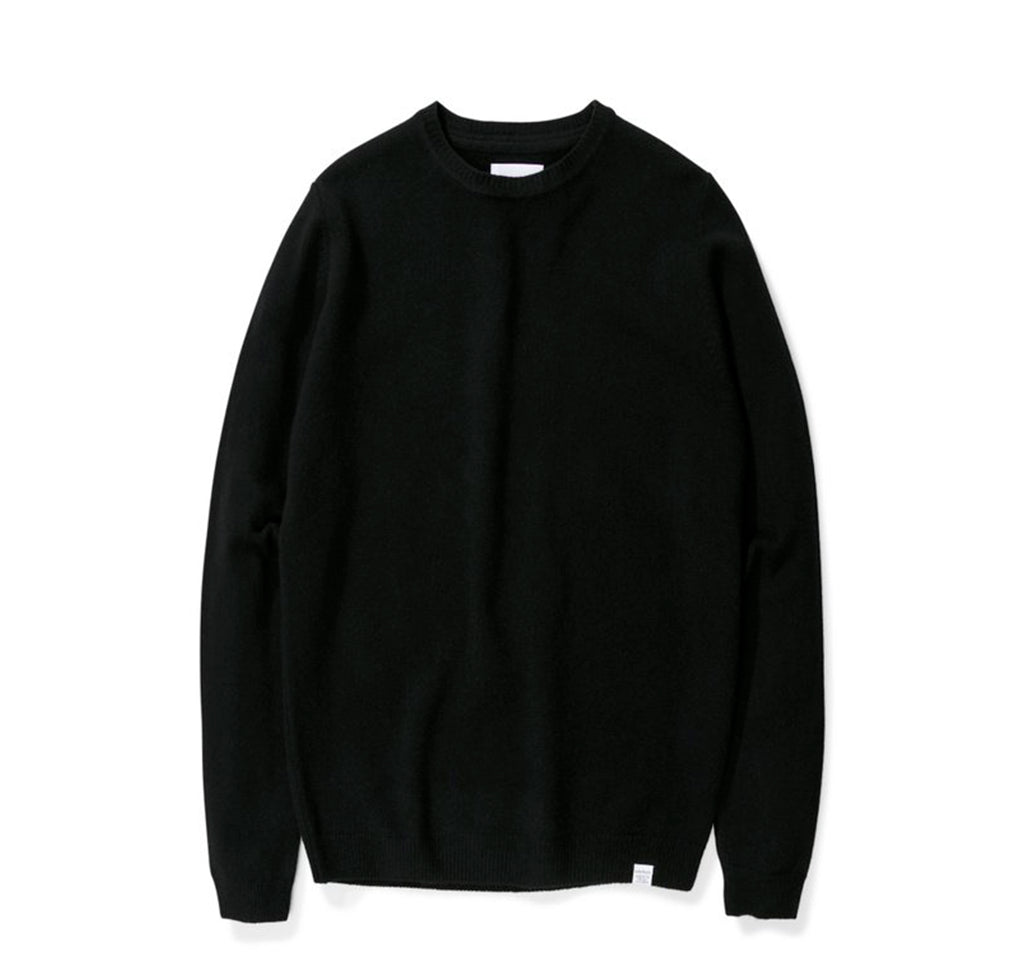 Norse Projects Sigfred Lambswool: Black - The Union Project