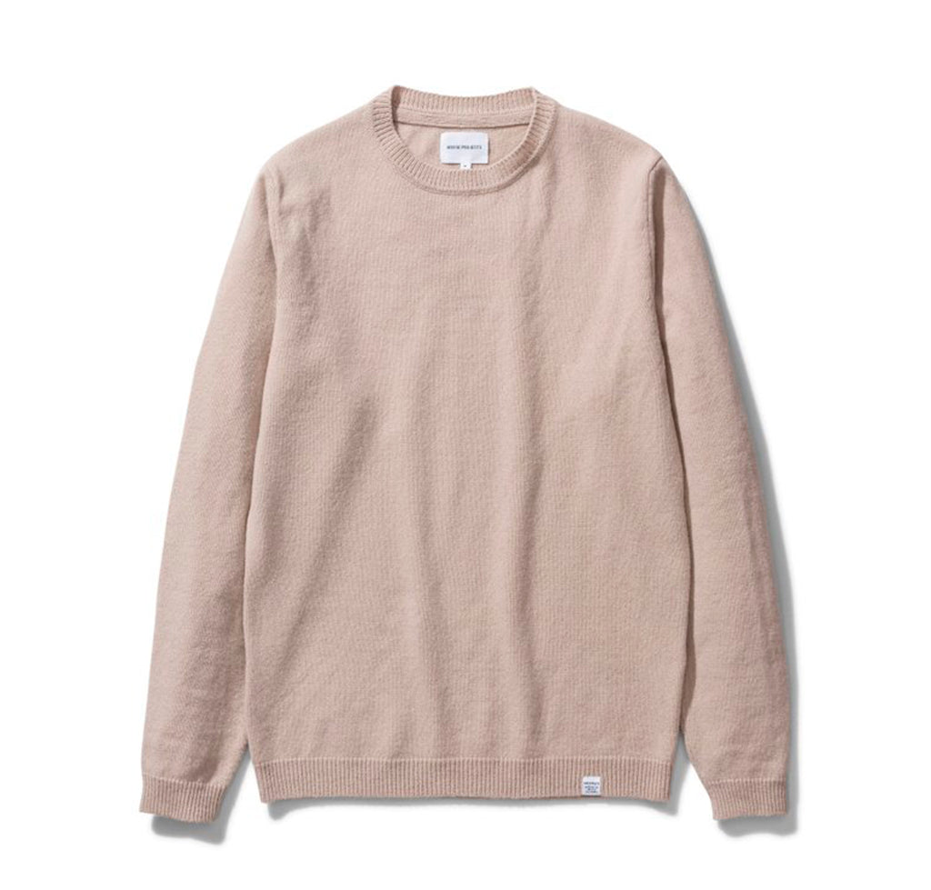 Norse Projects Sigfred Lambswool: Utility Khaki - The Union Project