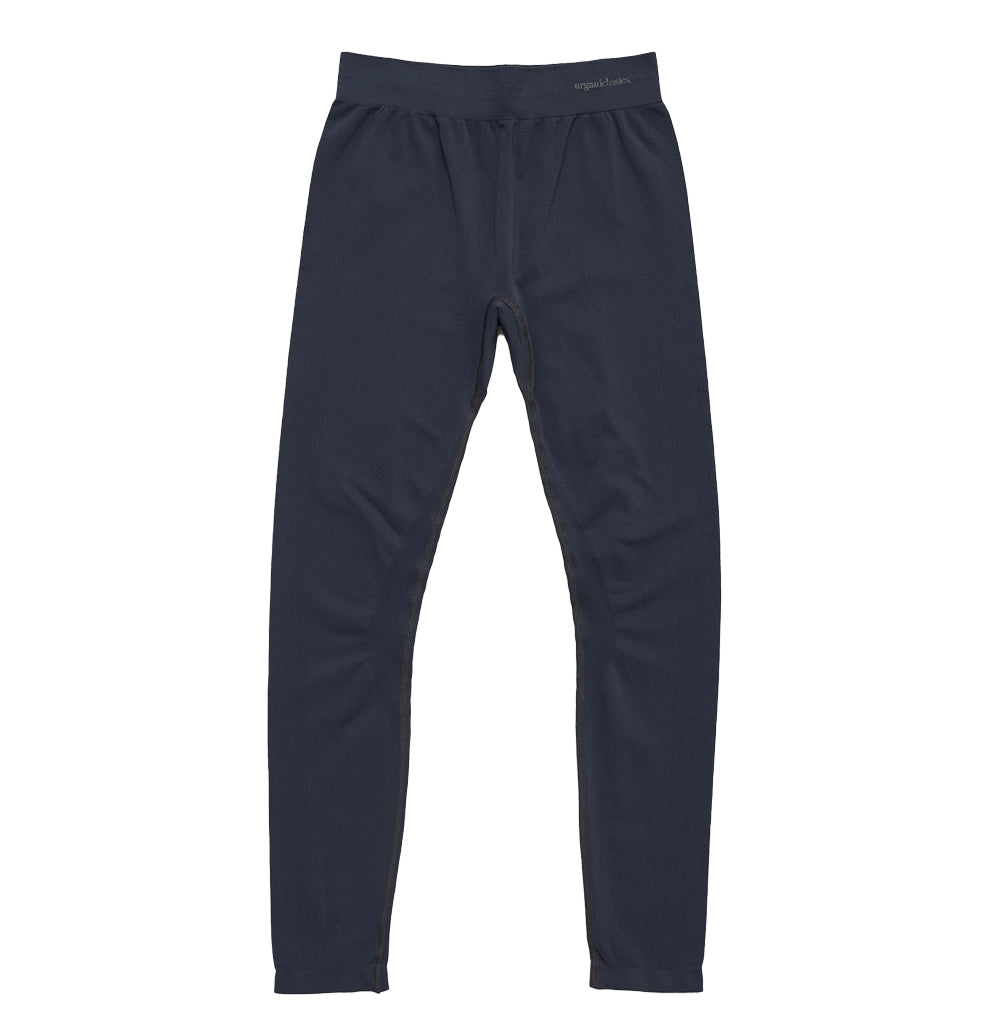 Organic Basics Silvertech Leggings: Sea Blue - The Union Project