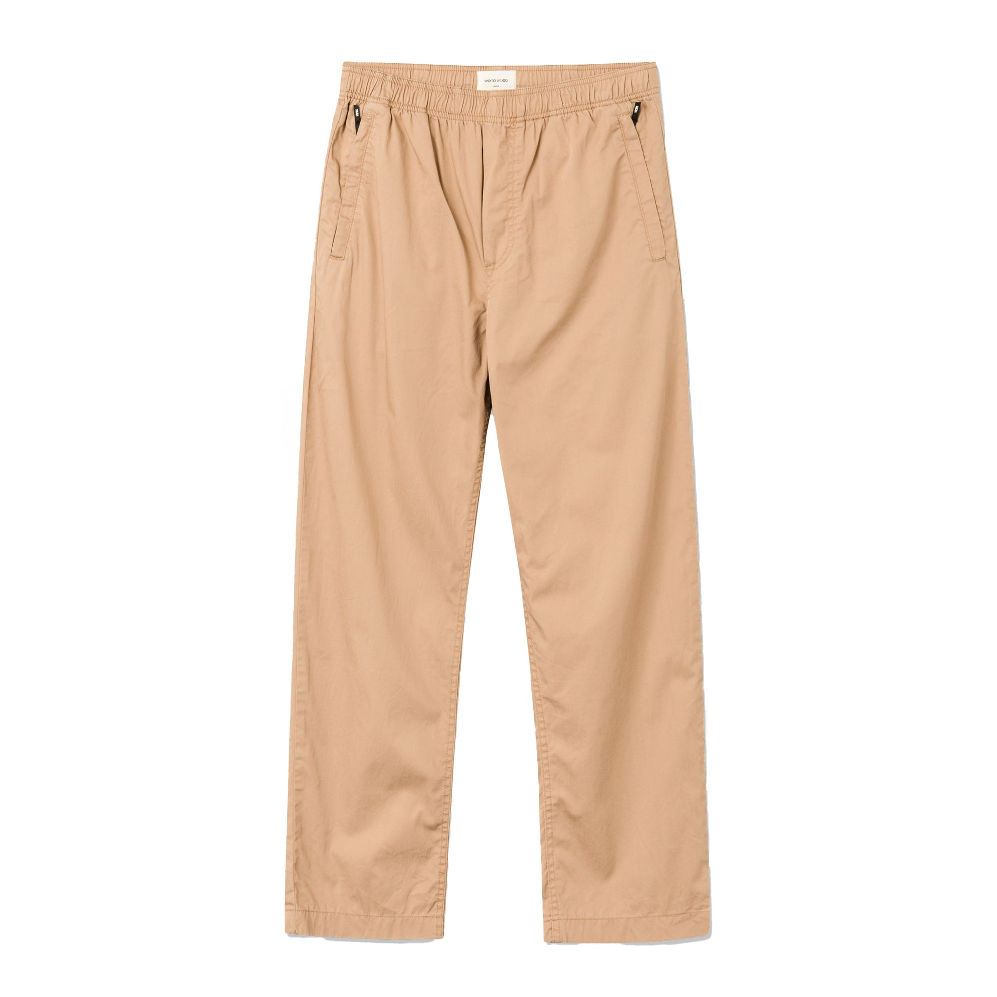 Wood Wood Stanley Twill Trouser: Khaki - The Union Project