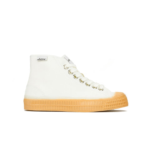 Novesta Womens Star Dribble: White / Gum Sole - The Union Project