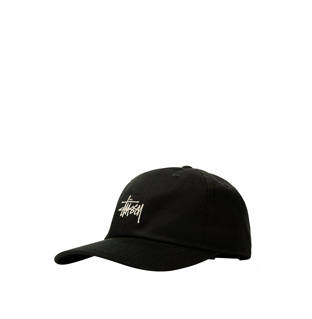 Headwear Stussy Stock Low Pro Cap: Black - The Union Project, Cheltenham, free delivery