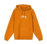 Hoods & Sweats Stussy Stock Logo App. Hoodie: Caramel - The Union Project, Cheltenham, free delivery