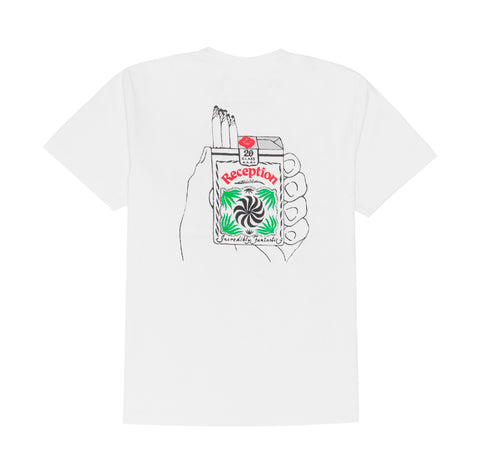T-Shirts Reception Stonies T-Shirt: White - The Union Project, Cheltenham, free delivery
