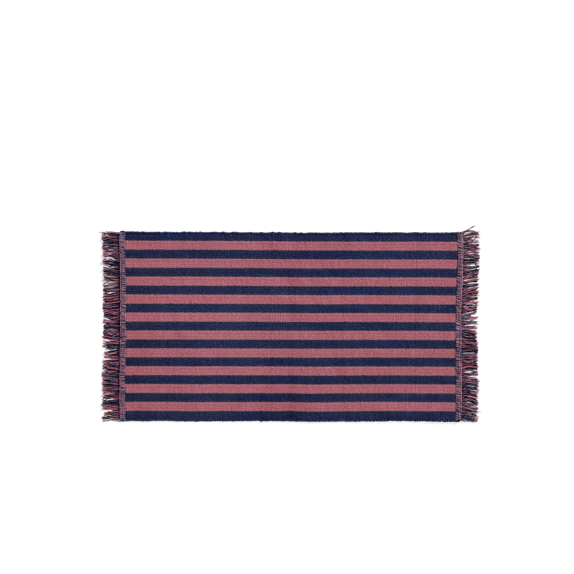 HAY Stripes and Stripes Rug: Navy Cacao - The Union Project