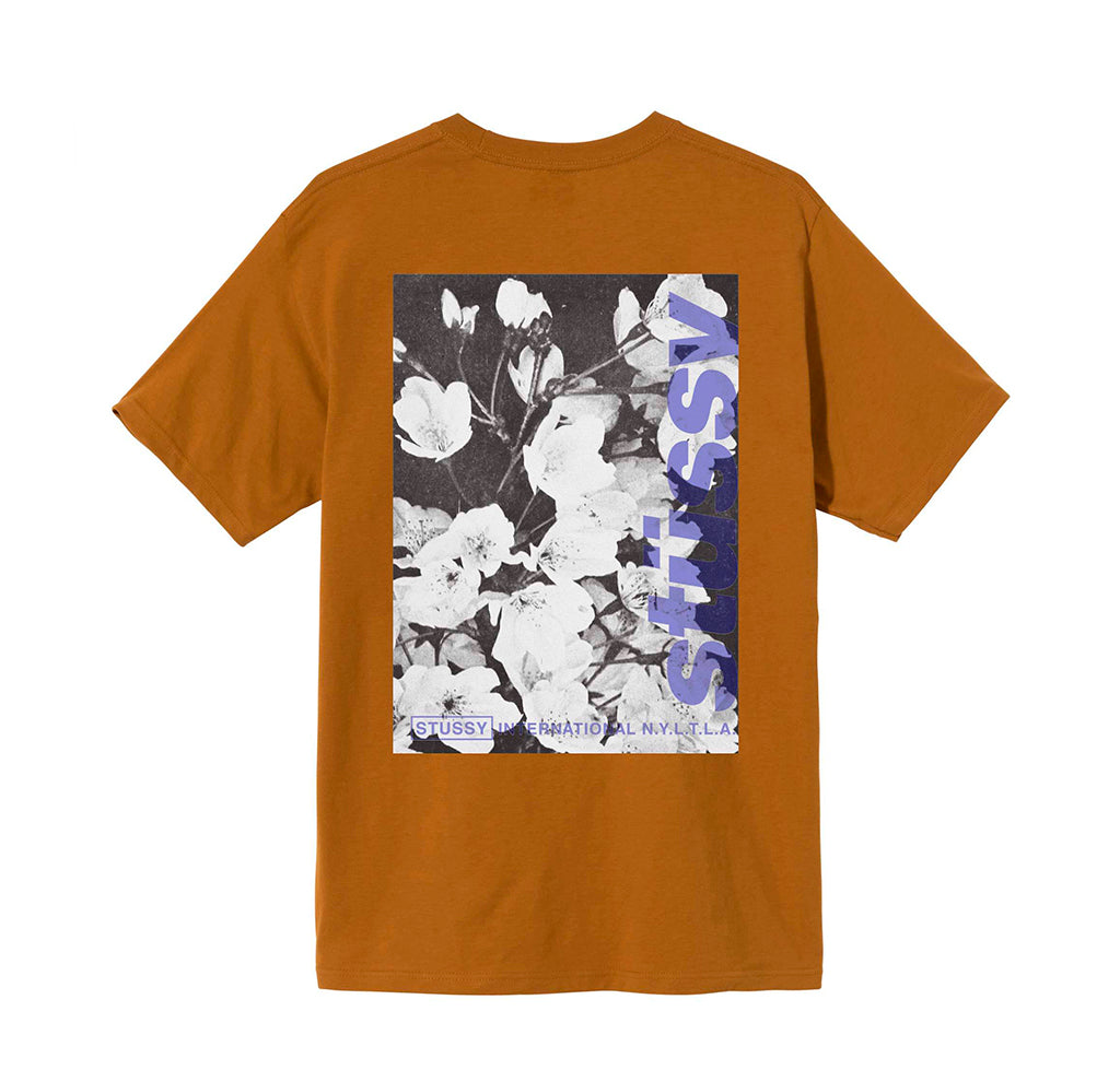T-Shirts Stussy Windflower Tee: Caramel - The Union Project, Cheltenham, free delivery