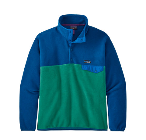 Patagonia LW Synch Snap-T P/O: Eelgrass Green
