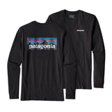 T-SHIRTS Longsleeve P-6 Logo Tee: Black - The Union Project