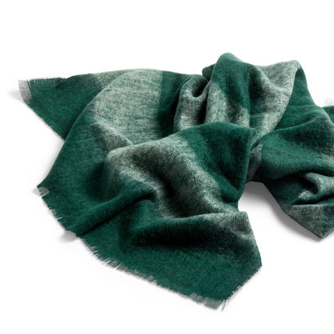 Cushions + Blankets HAY Mohair Blanket: Green - The Union Project, Cheltenham, free delivery