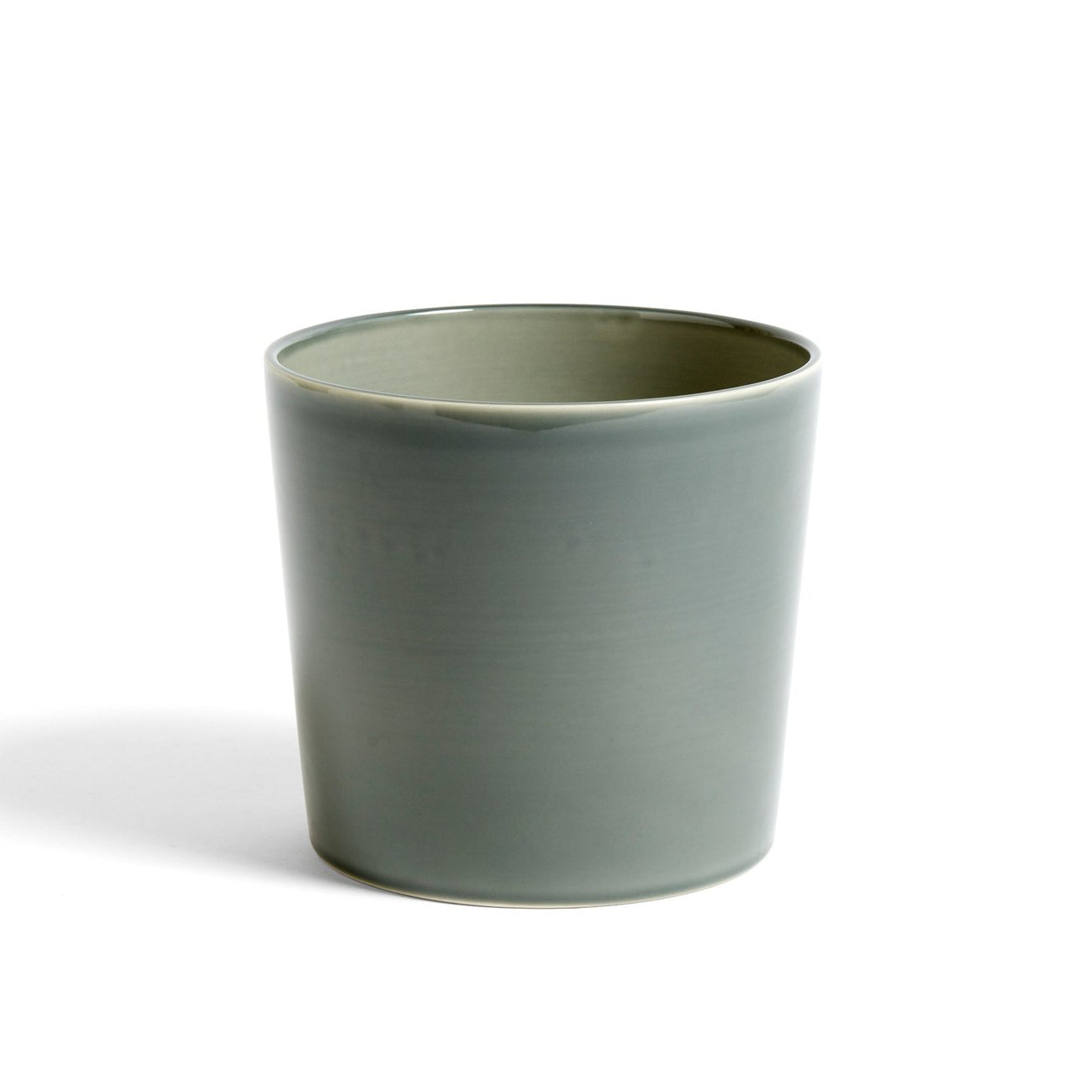 HAY Botanical Family Pot L: Dusty Green - The Union Project
