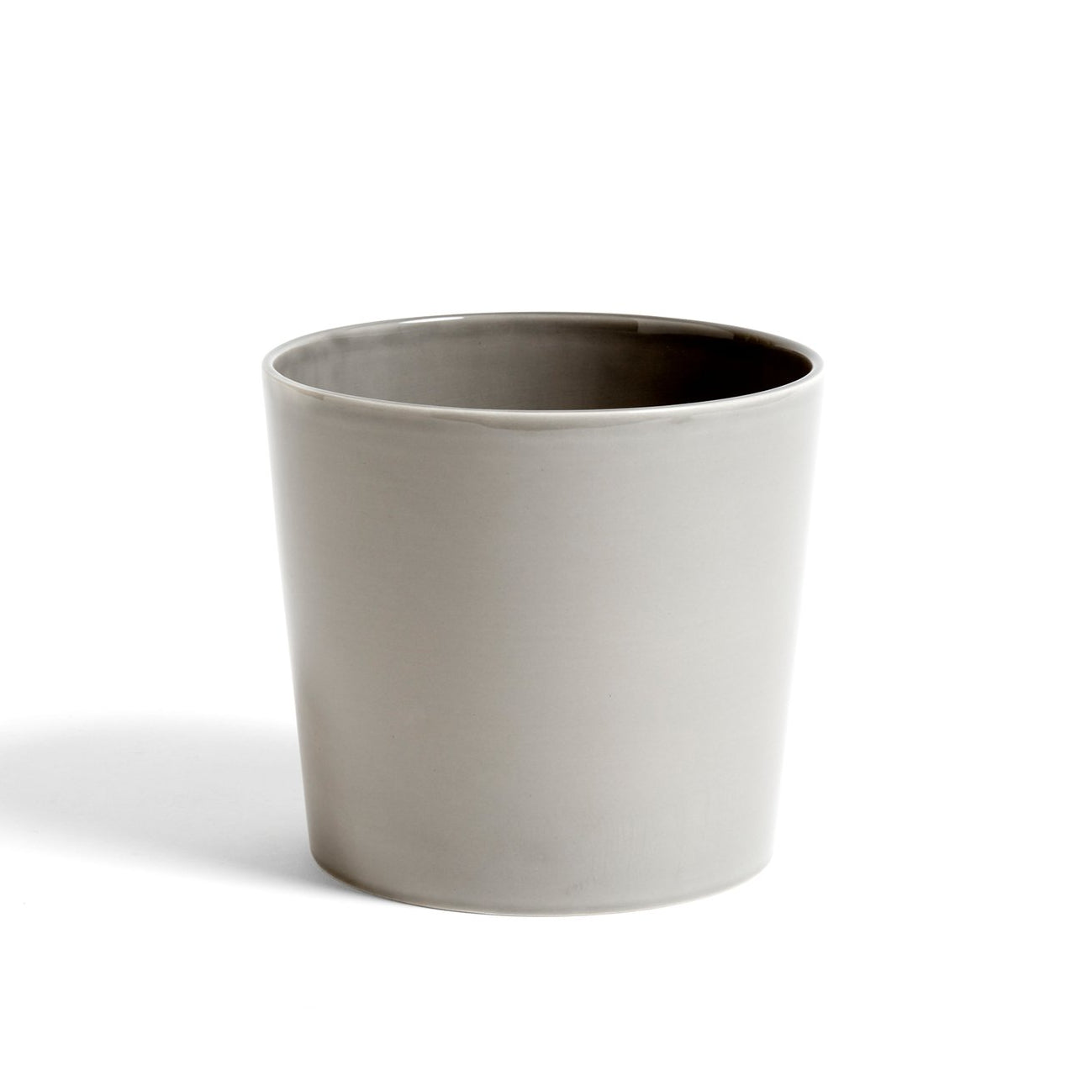 HAY Botanical Family Pot L: Light Grey - The Union Project