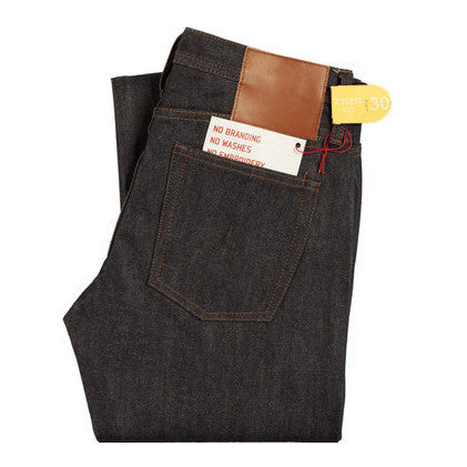 Legwear The Unbranded Brand UB401 Tight Fit 14.5oz Indigo Selvedge Denim - The Union Project, Cheltenham, free delivery