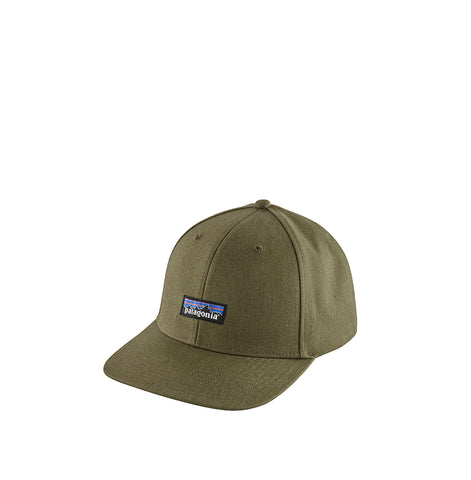 Headwear Patagonia Tin Shed Hat: P-6 Logo: Fatigue Green - The Union Project, Cheltenham, free delivery