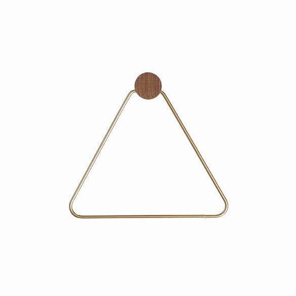 Ferm Living Toilet Paper Holder: Brass - The Union Project