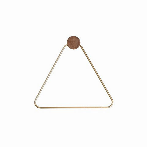 Ferm Living Toilet Paper Holder: Brass
