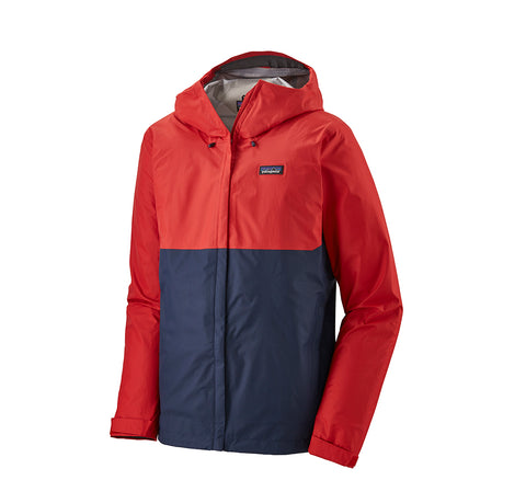 Patagonia Torrentshell 3L Jacket: Fire
