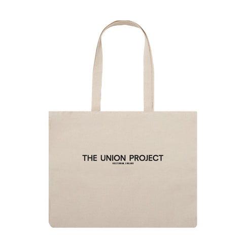 The Union Project Logo Tote: Natural