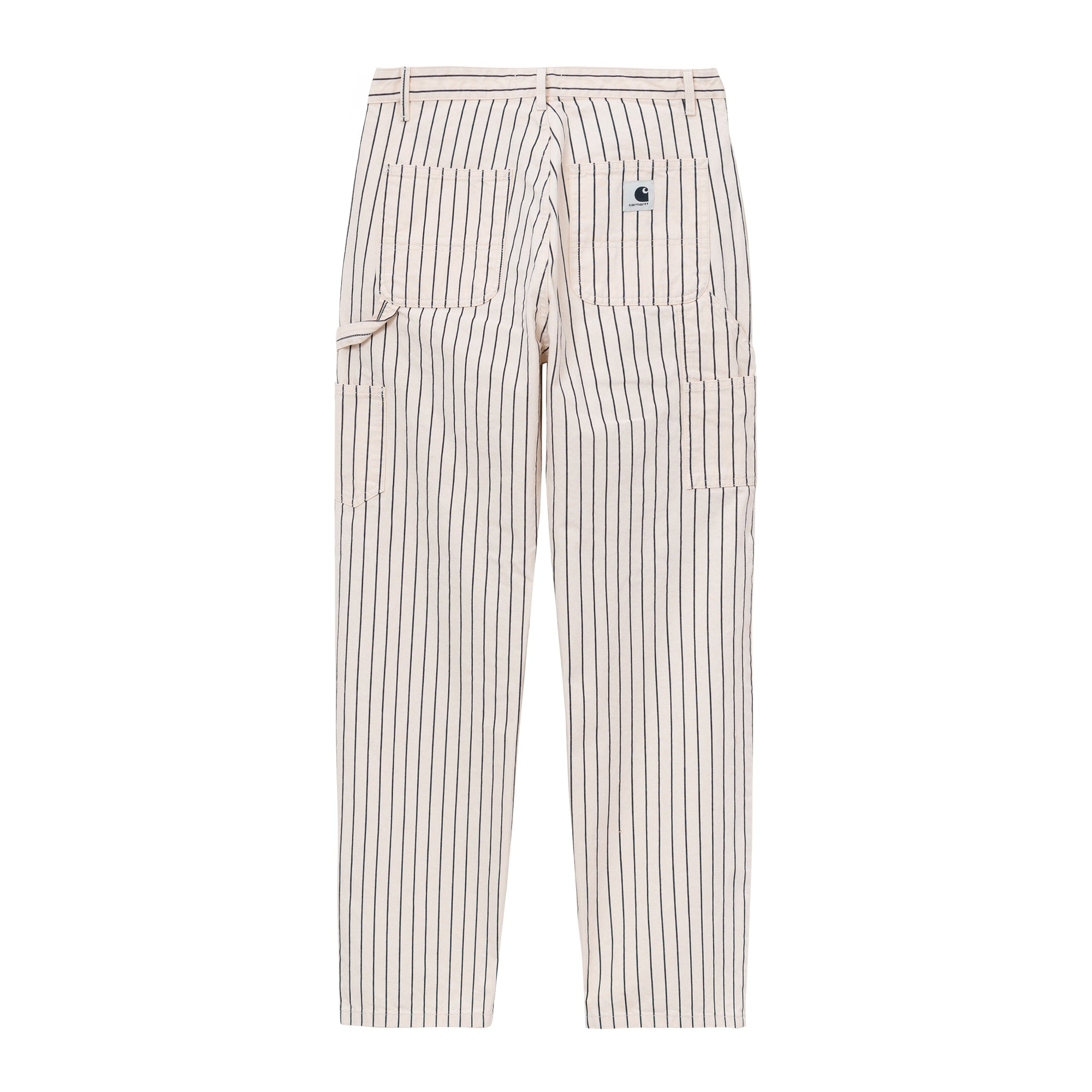 Carhartt WIP Womens Trade Pant: Hickory Stripe: Wax / Black - The Union Project