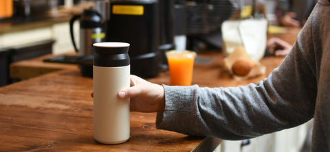Travel Tumbler 500ml: White