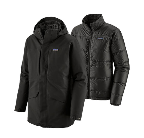 Patagonia Tres 3-in-1 Parka: Black