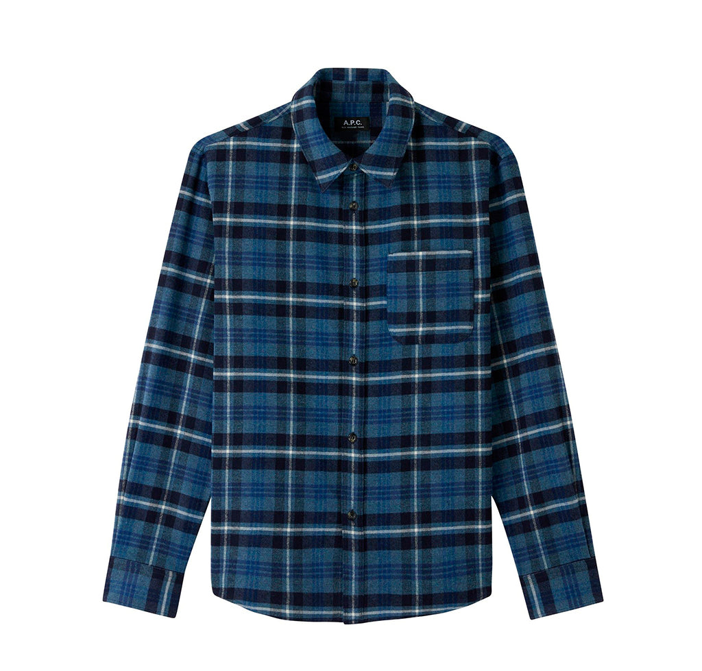 APC Trek Shirt: Blue - The Union Project