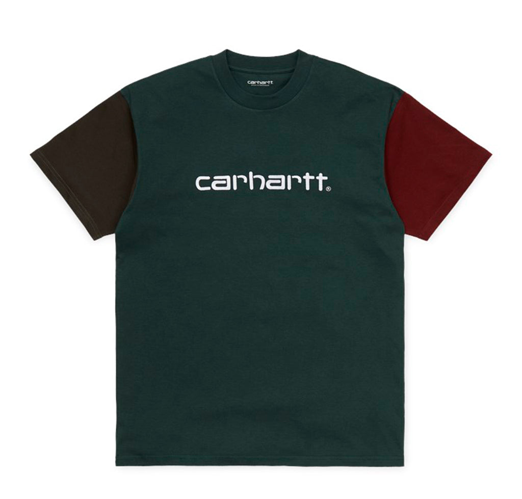 Carhartt WIP Tricol T-Shirt: Dark Teal - The Union Project