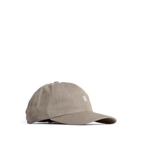 Norse Projects Light Twill Sports Cap: Washed Kelp