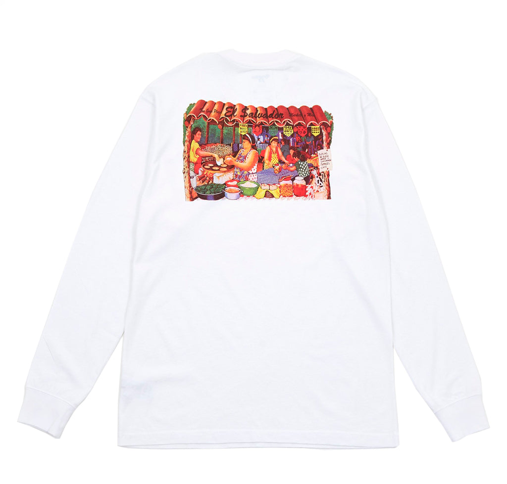 Reception Two Guys L/S T-Shirt: White - The Union Project