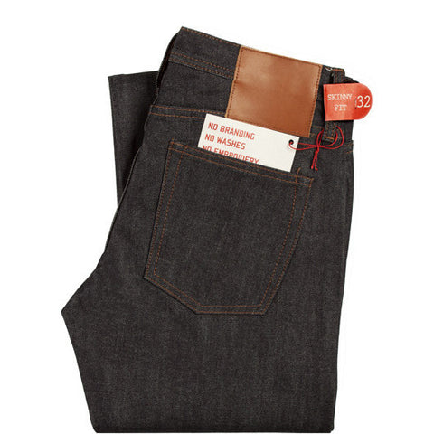 Legwear The Unbranded Brand UB101 Skinny Fit 14.5oz Indigo Selvedge Denim - The Union Project, Cheltenham, free delivery