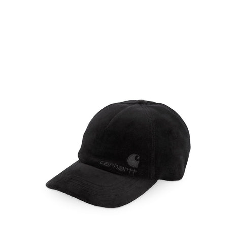 Headwear Carhartt WIP United Script Cap: Black - The Union Project, Cheltenham, free delivery