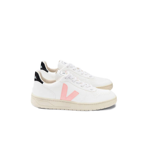 Veja Womens V-10 CWL: White / Petale / Black - The Union Project