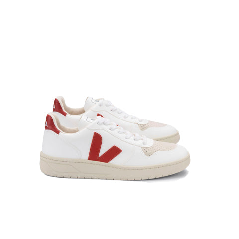Footwear Veja V-10 CWL: White / Rouille - The Union Project, Cheltenham, free delivery